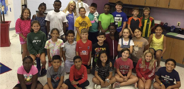 September's Class of KidsPost: Fourth-graders at North Chevy Chase Elementary