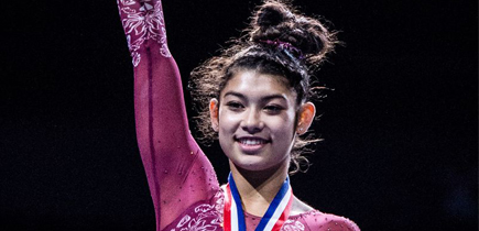 After winning U.S. junior gymnastics title, Boyds teenager Kayla DiCello 'in very elite company'